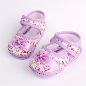Sapato Importado Para Bebê - Lilás
