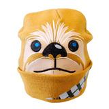 Beanie Infantil Niño Disney Star Wars D Chewbacca