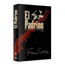 El Padrino Trilogia Restaurada Marlon Brando Peliculas Dvd