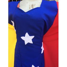 Manta Guajira Tricolor. Diseño Exclusivo. Estrellas Tapizada