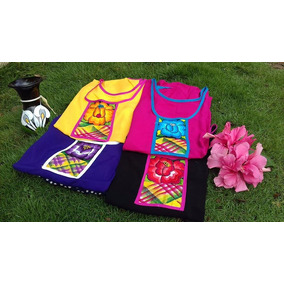 Hermosas Blusas Típicas De Oaxaca 100% Bordadas Mayoreo