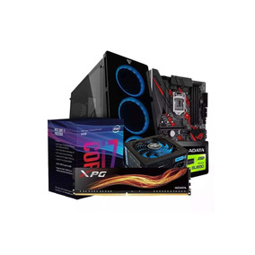 Computadora Pc Cpu Gamer Intel I7 8700 Ssd 120gb 8gb 80+