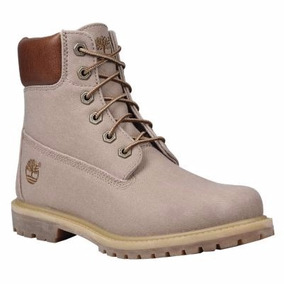 Timberland Mujer 6inch Kaki Canvas A149x Look Trendy