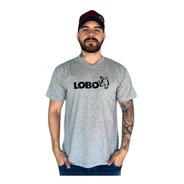 Camiseta Lobo Street Mescla C001