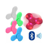 Fidget Spinner Led Speaker Cornetas Bluetooth Anti Estres