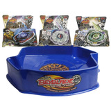 Kit De 3 Beyblade Y 1 Estadio De Duelo Beystadium