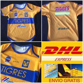 Pañalero Bebe Tigres Mexico 2018 Envio Express Dhl Gratis!!!