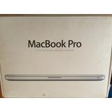 Macbook Pro 2011 15 Pulgadas