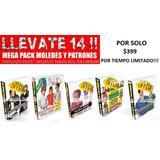 Pack Confeccion Moldes Patrones Todo Y Mas De Lo Que Buscas!