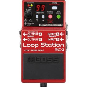 Loop Station Pedal Boss Rc3