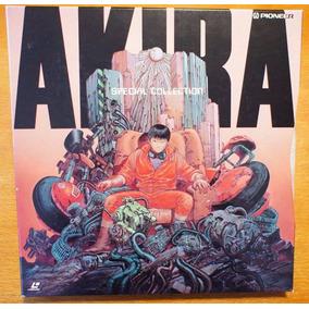 Akira Special Collection - 3 Laserdisc En Caja Raro