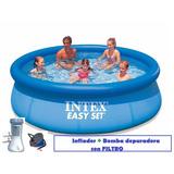 Pileta Intex Easy Set 305 X 76 Cm Completa