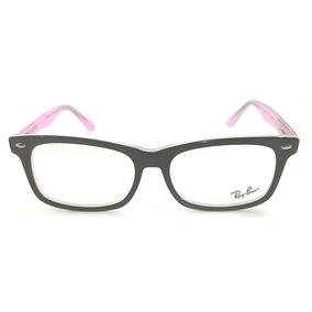 eebc5fe4fe6a5 Oculos Sem Grau Wayfarer Rosa De Armani - Óculos no Mercado Livre Brasil