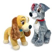 Pelúcias A Dama E O Vagabundo - Cachorro Fun Original Disney