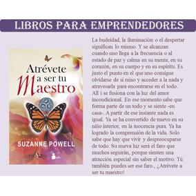 Libro Atrevete A Ser Tu Maestro - Powell Suzanne Pdf