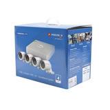 Kit 4 Cámaras Precision Video Series Sistema Todo En Uno P2p
