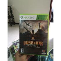Jogo Legends Of War Patton Xbox 360