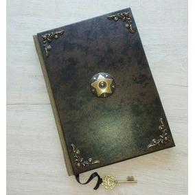 Grimório Livro Das Sombras Wicca Book Of Shadows Diário Bos