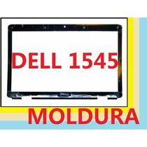 Moldura Aro Tela Notebook Dell Inspiron 1545 C/ Webcam Novo