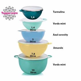 Tupperware Kit Tigelas Criativa 5 Peças - Pronta Entrega