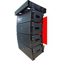 Line Array Proissional Eco Som Lx206 Ativa Amplificada