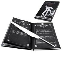 Caderno Death Note + 1 Caneta Pena De Brinde