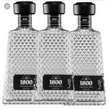 Botella 1800 Cristalino Vacía Licorera