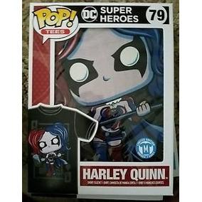 Pop Tees: Dc Super Heroes - Harley Quinn