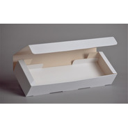Caja Rectangular Con Bandeja 38x12x7 Cm (x50u) - 056c