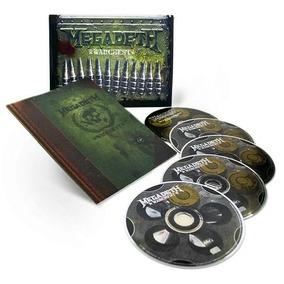 Box Megadeth - Warchest (4 Cds E 1 Dvd) Zerado, Como Novo!