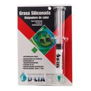 Grasa Siliconada Delta Termica 10cc Jeringa Disipadora Calor