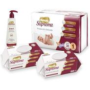 Baby Kit Huggies 38 Pañales Etapa 1 Shampoo 180 Toallas