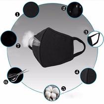 Mascara Cubreboca Protección Polvo Gripe Frío Contaminación