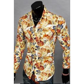 Camisa Floral Masculina - Camisas Masculinas em São Paulo Zona Sul ... 271c769c049de