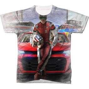 b6592e22ce Garrafa Dos Pilotos De Carro - Camisetas no Mercado Livre Brasil