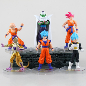 Muñecos Dragon Ball Super. Goku Vegeta Blue Freezer Picoro