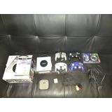 Gamecube Plateado 4 Controles + Bonus