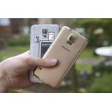 Tampa Traseira Galaxy S5 Fundo G900 I9600 Duos Mega Promoção