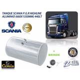 Tanque Oleo Diesel Aluminio 440 Litros Scania Serie-5 P.g.r