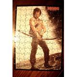 Rompecabezas / Puzzle Rambo - Decada 80 O 90
