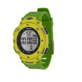 Relógio De Pulso Brasil Verde - Umb-01-br2 - Umbro
