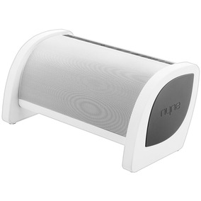 Parlante Portatil Nyne Bass Blanco Bluetooth / Nfc/ Usb