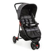 Carrinho De Bebê Delta Cinza Grid - Voyage