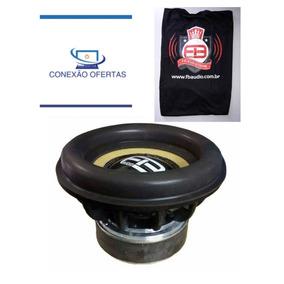 Subwoofer Fb Audio 1600 Rms 12 Polegadas 1 Ohms + Camisa