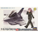 Maqueta F-16 Fighting Falcon Nro 3 Egg Plane Hasegawa Nueva