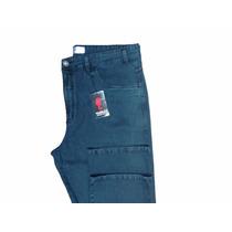 Calça Jeans Masculina Moda Tamanho Grande Cintura Alta