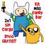 Kit Imprimible Hora De Aventura. Candy + 2x1. Nuevo Y Único!