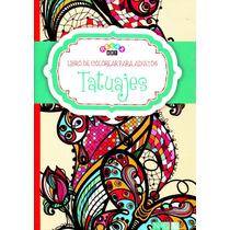 Mandalas Tatuajes Libro De Colorear Para Adultos - Relax Art