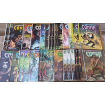 A Espada Selvagem De Conan - Vários Numeros - Editora Abril