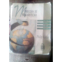 Libro Direccion De Mercadotecnia 8va Edicion Philip Kotler